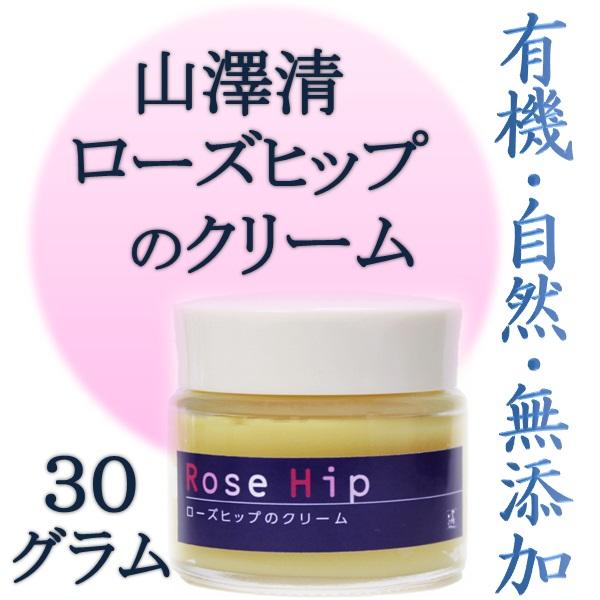 画像1: 山澤清 ローズヒップのクリーム 30g (1)