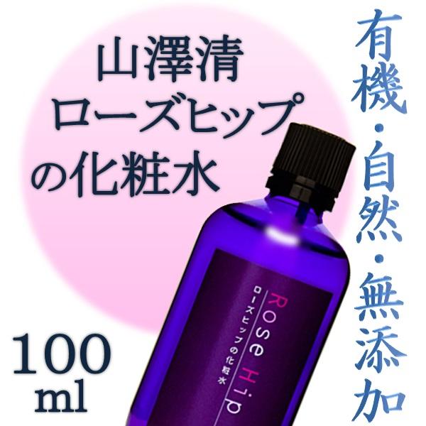 画像1: 山澤清 ローズヒップの化粧水 100ml (1)
